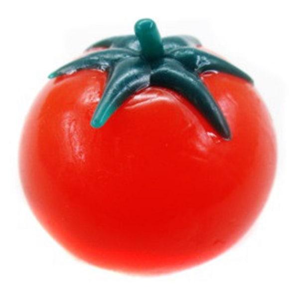 Tomat Splattboll Squeeze Stressboll Slime Stress Lek Boll