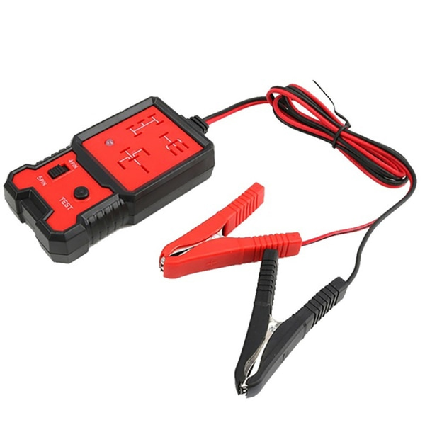 12V Electronic Automotive Relay Tester Diagnosis For Cars Auto B Red