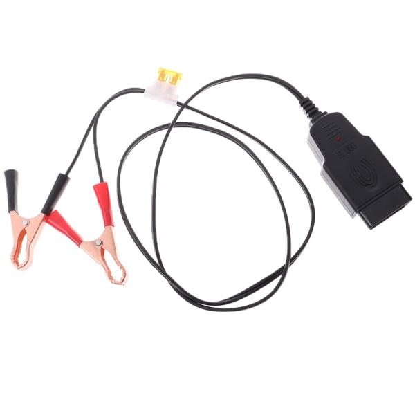 Automotive ECU Memory Saver OBD 12V Battery Replace Tool Extende