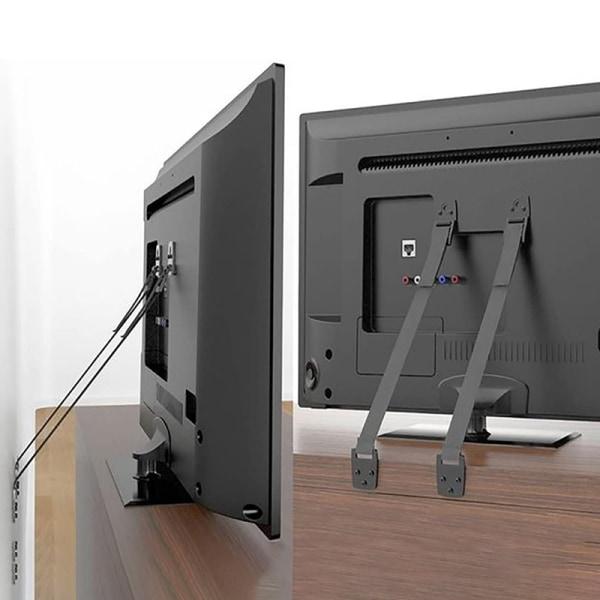 Baby Safety Metal TV Straps, DD Furniture Anti-Tip Straps Heavy onesize