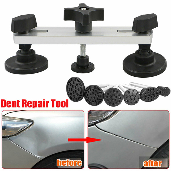 Car Auto Puller Bridge Suction Cup Sucker Stick Body Dent Repair Black