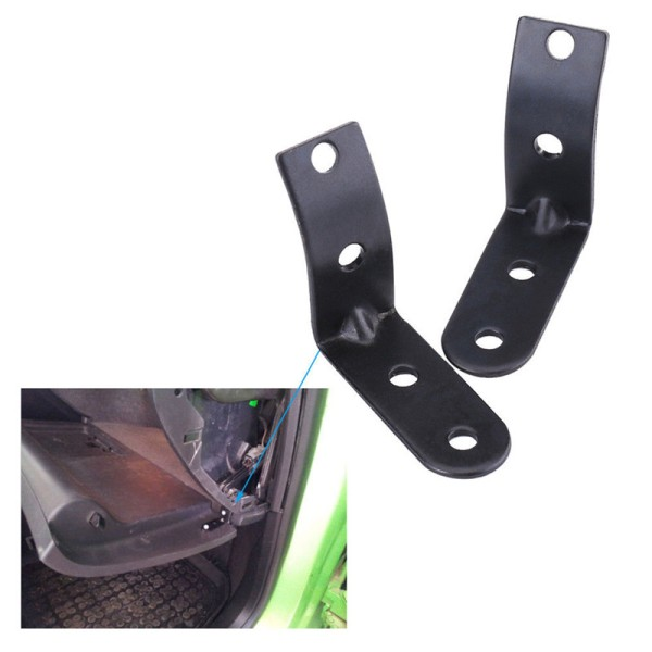 Glove Box Hinge Repair Kits For A4 S4 RS4 B6 8E 2003 2004 2005  Black