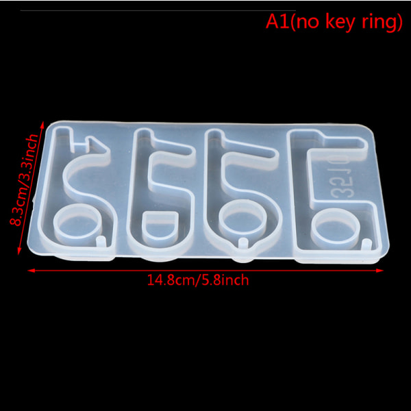 hängande dörröppnare silikonform gjutning harts mögel epoxy uv re