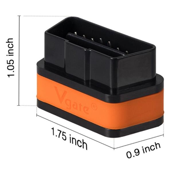 Vgate iCar 2 ELM327 Bluetooth V3.0 OBDII Car Diagnose Scanner C One Size