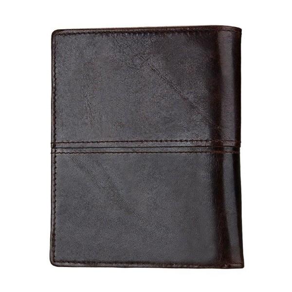 Herr Plånbok RFID Oil Wax med avtagbar korthållare