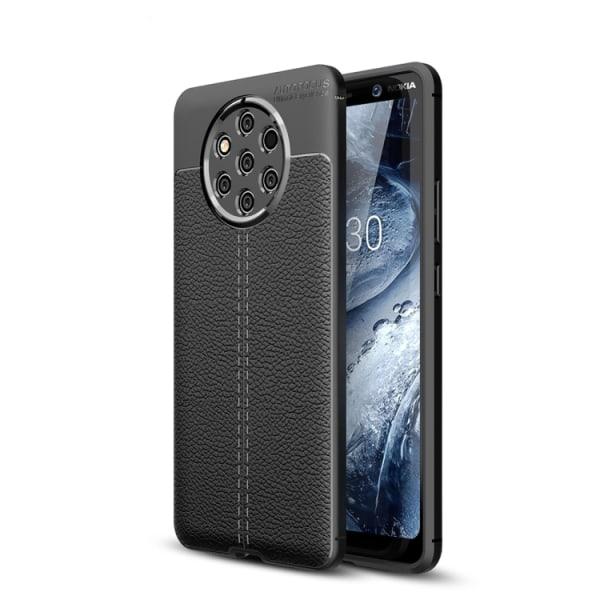 Mobilskal läderlook Nokia 9 Pure View