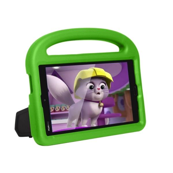 Skyddsfodral med ställ till Huawei MediaPad M3 8.4 för barn Grön