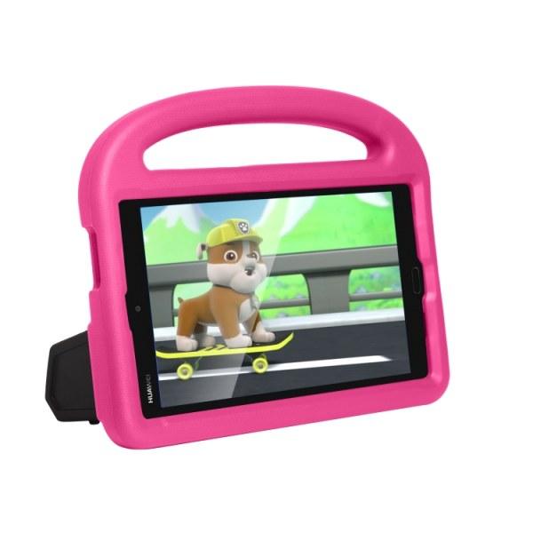 Skyddsfodral med ställ till Huawei MediaPad M3 8.4 för barn Rosa