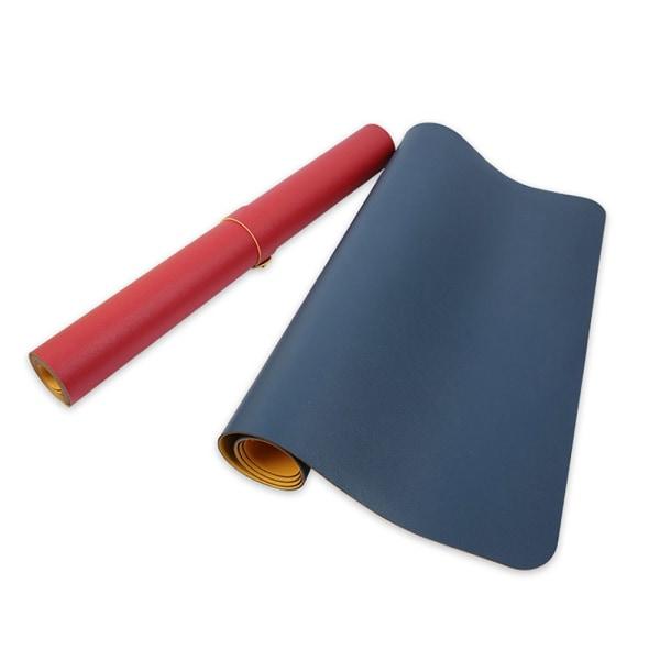 Stor Musmatta 90x45cm Svart/Röd