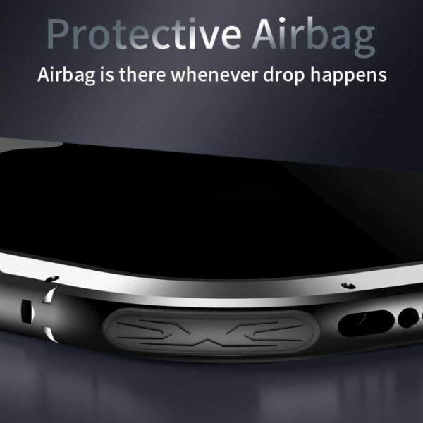 Transparent mobilskal med silverkanter till iPhone 11 Pro