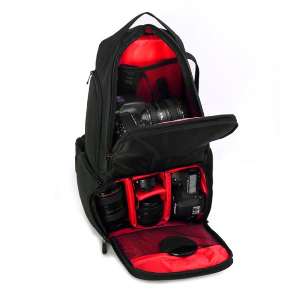 Vattentät ryggsäck för Nikon systemkamera