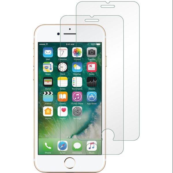 2-Pack härdat glas för iPhone 6/6S