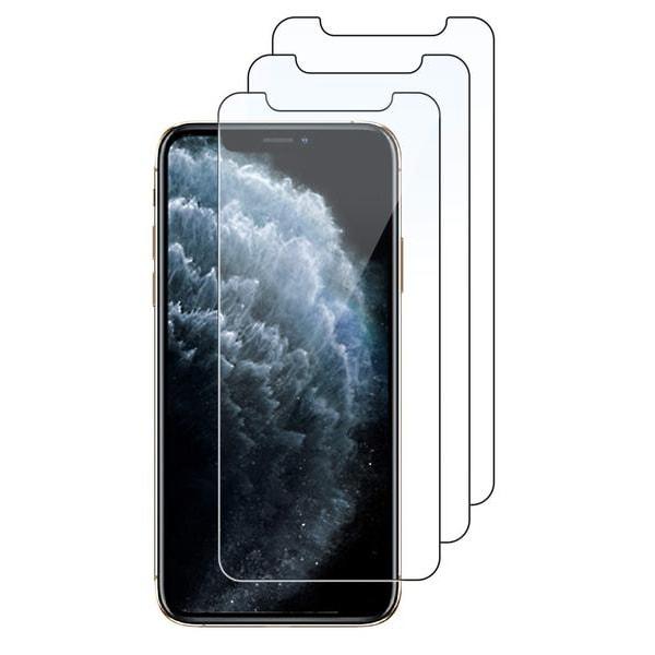 3-Pack - iPhone 11 - Skärmskydd i härdat glas