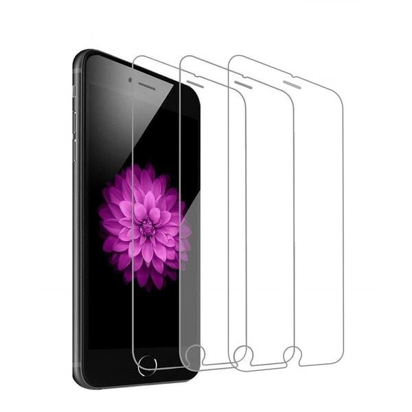 3-Pack - iPhone 7/8 Plus - Skärmskydd i härdat glas