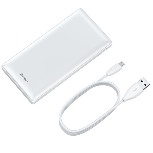 Baseus 3A Mini Power Bank 20000 mAh 3x USB - Vit