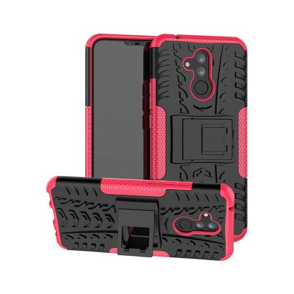 Huawei Mate 20 Lite - Ultimata stöttåliga skalet med stöd - Rosa