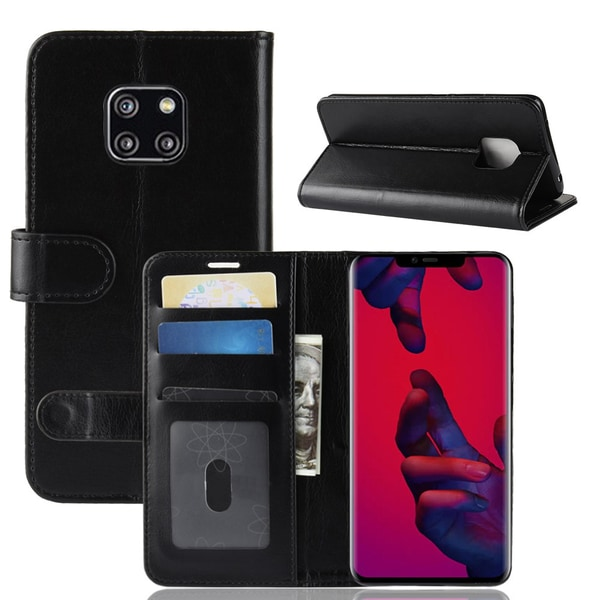 Huawei Mate 20 Pro - Plånboksfodral - Svart