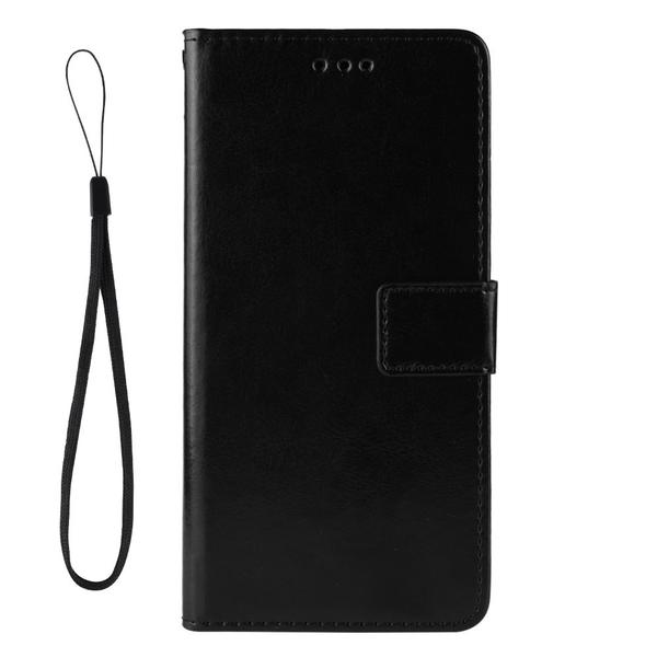Xiaomi Mi Note 10 Lite - Crazy Horse Plånboksfodral - Svart