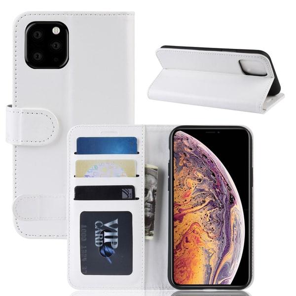 iPhone 11 Pro Max - Plånboksfodral - Vit
