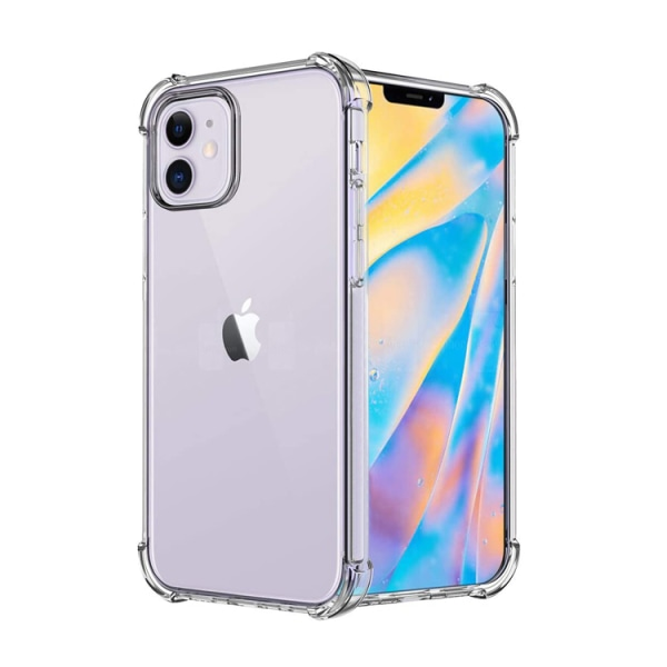 iPhone 12 / 12 Pro - Shockproof TPU Skal
