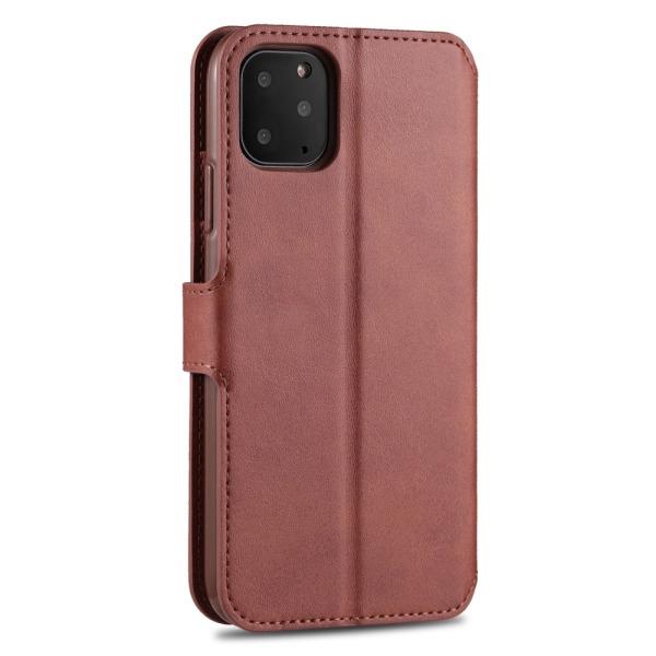 iPhone 12 Pro Max - AZNS Läder Fodral - Brun