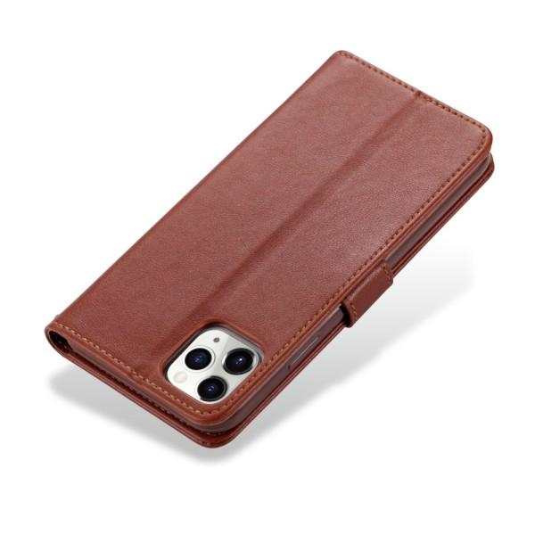 iPhone 12 Pro Max - AZNS Plånboksfodral - Brun