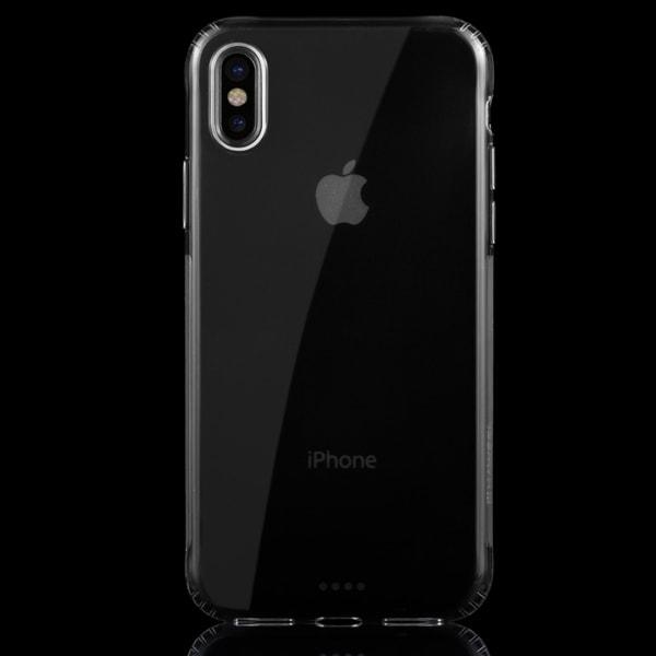 iPhone X/Xs - Haweel TPU Skal - Transparent