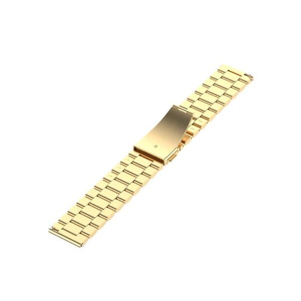 Lyxigt Metallarmband I Rostffritt Stål - Guld (20 mm)