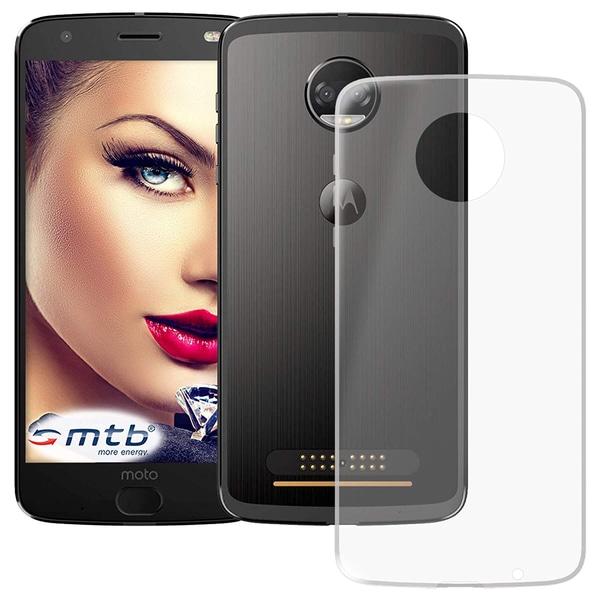 Motorola Moto Z2 Force - Transparent TPU Skal