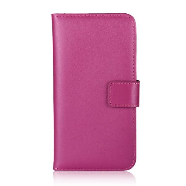 Huawei Honor 9 - Plånboksfodral I Äkta Läder - Välj Färg! Rosa