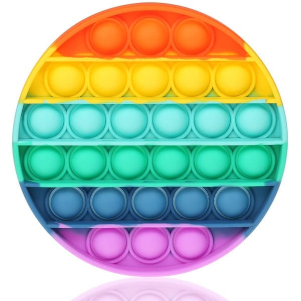 Regnbåge - Rainbow - Pop It Fidget Toy - Pride