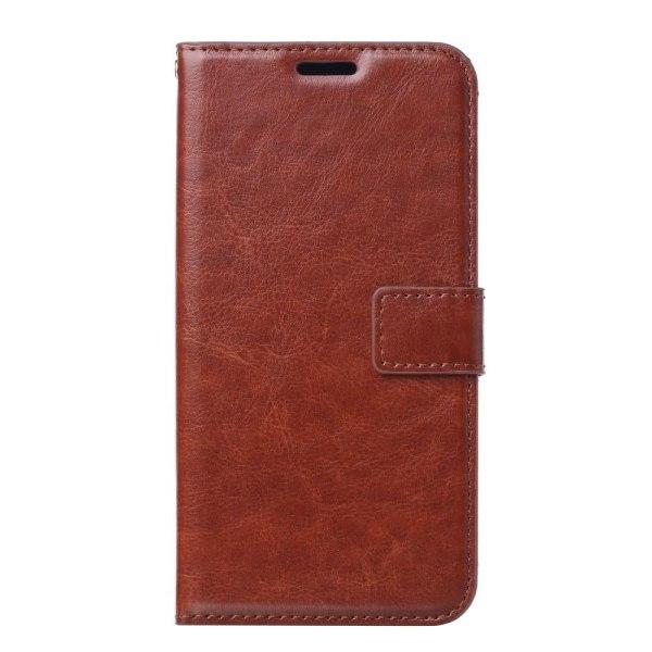 Samsung Galaxy A20e - Plånboksfodral - Brun Brown Brun