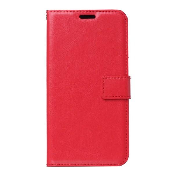 Samsung Galaxy A20e - Plånboksfodral - Röd Red Röd