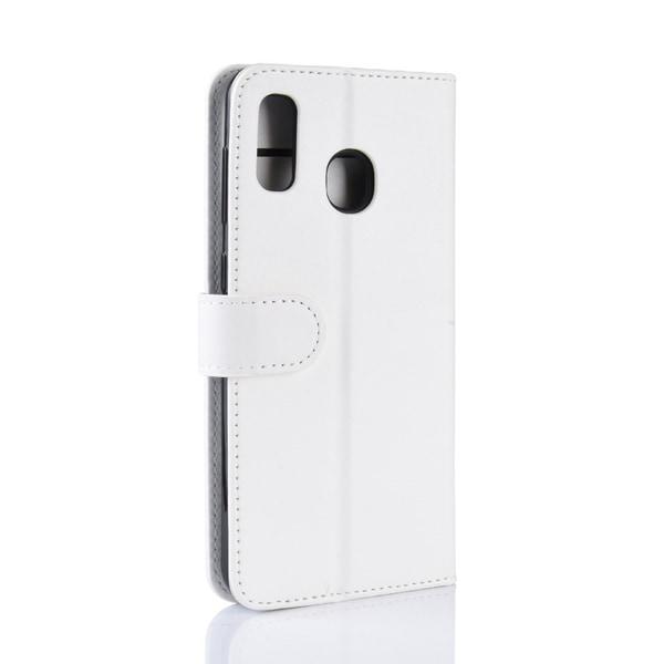 Samsung Galaxy A40 - Plånboksfodral - Vit