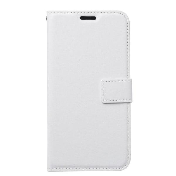 Samsung Galaxy A20e - Plånboksfodral - Vit White Vit