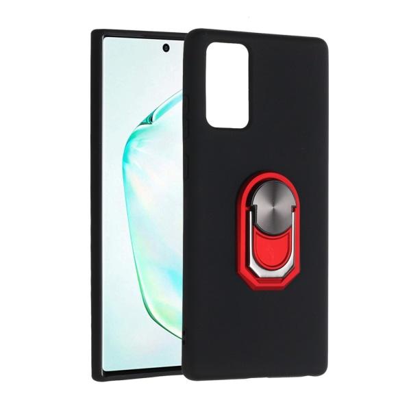 Samsung Galaxy Note 20 - Ring Skal - Svart/Röd