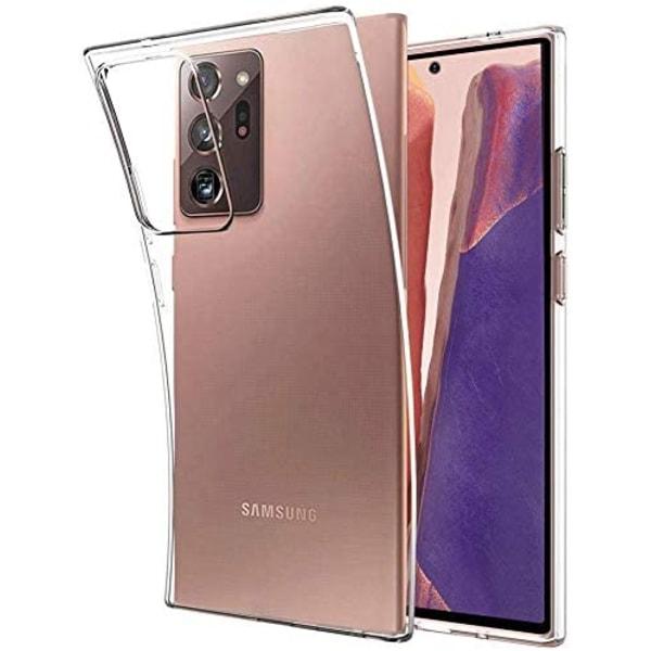 Samsung Galaxy Note 20 - Transparent TPU Skal