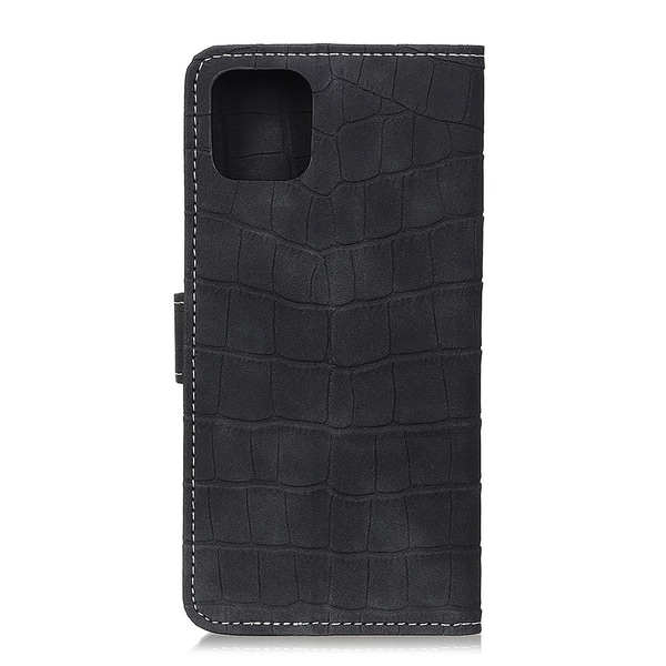 Samsung Galaxy S10 Lite - Krokodil Plånboksfodral - Svart