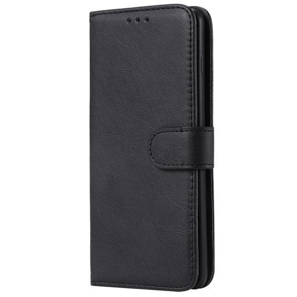 Samsung Galaxy S10 Plus - Plånboksfodral/Magnet Skal - Svart Black Svart