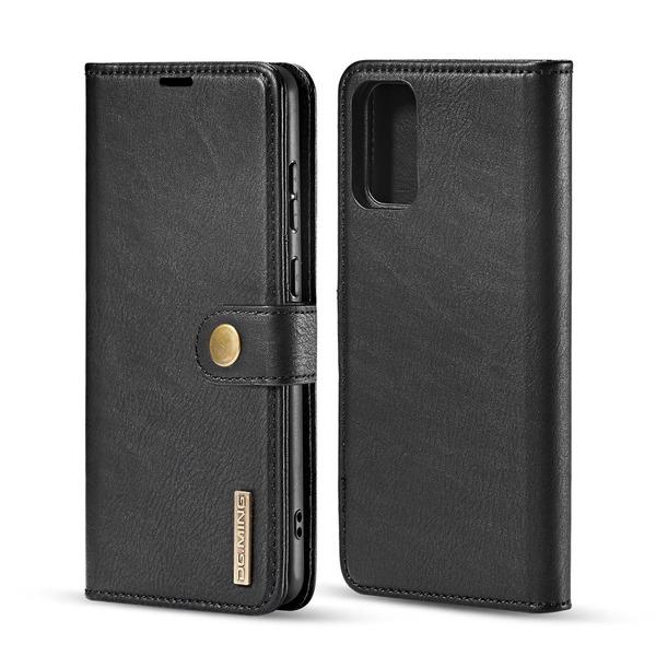 Samsung Galaxy S20 - DG.MING Magnet/Plånboksfodral - Svart