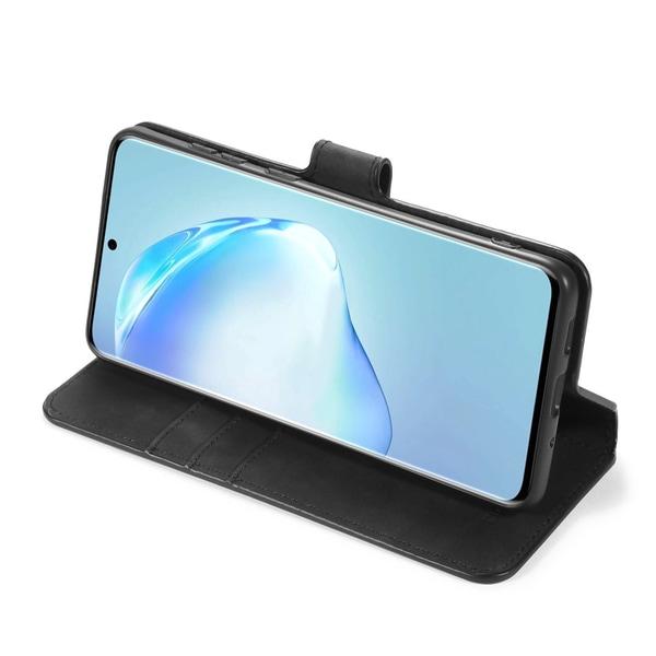 Samsung Galaxy S20 Ultra - DG.MING Retro Plånboksfodral - Svart