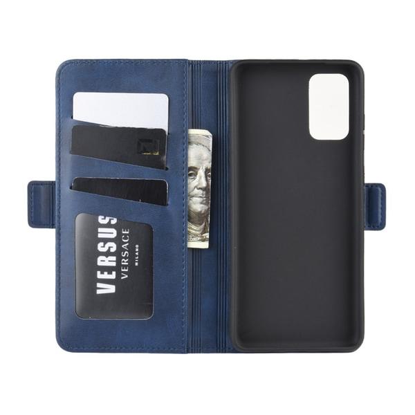 Samsung Galaxy S20 Plus - Plånboksfodral - Blå