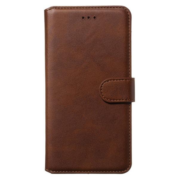 Samsung Galaxy A71 - Plånboksfodral - Brun