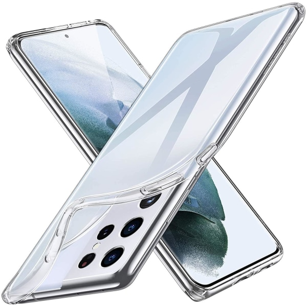 Samsung Galaxy S21 Ultra - Transparent TPU Skal