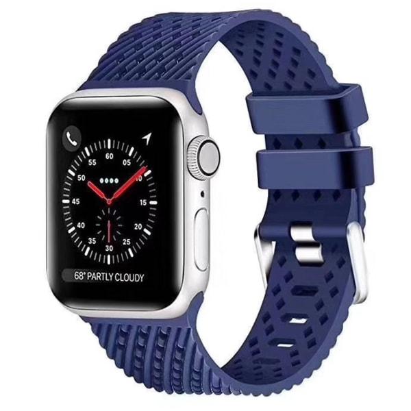 Silikon Armband Apple Watch 40/38 mm - Mörk Blå
