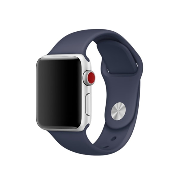 Silikon Armband Apple Watch 44/42 mm - Navy Blue