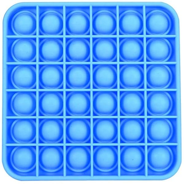 Square Pop it - Fidget Toy - Blå