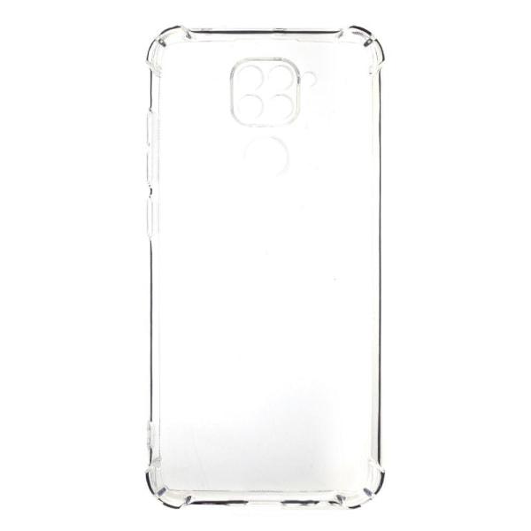 Xiaomi Redmi Note 9 - Shockproof Transparent TPU Skal