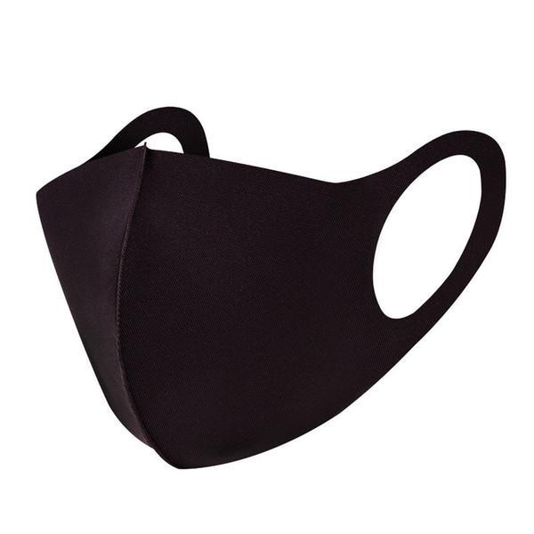 3 PACK Tvättbar mask - Munskydd/Skyddsmask Svart