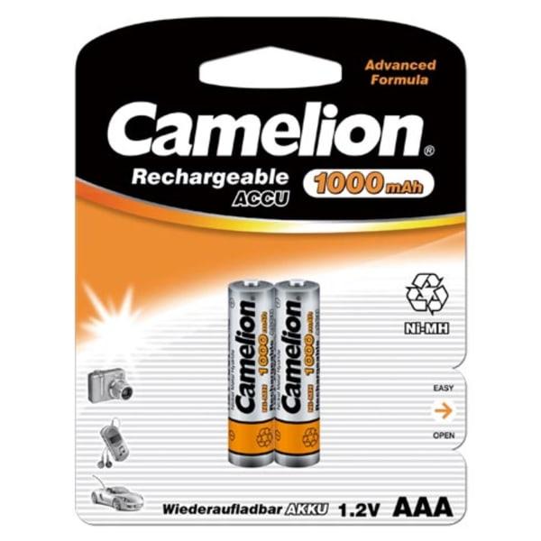 Camelion 24st (12 x 2) batterier AAA NiMH 1000mAh laddningsbara